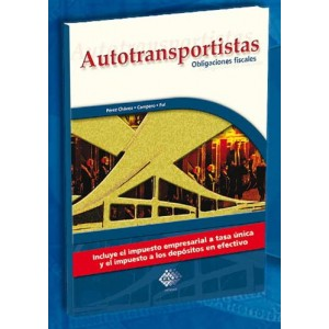 Autotransportistas, Obligaciones Fiscales